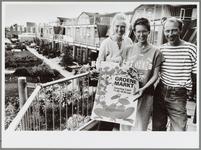 WAT001016541 Milieugroep. Thea de Jong, Jacqueline van Dijk en Chris Brugman (v.l.n.r.) staan van harte achter de ...