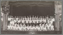 WAT001016919 60 jaar bestaan Volharding.Foto genomen in schouwburg Amicitia.