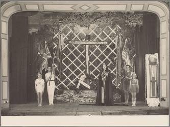 WAT001016925 Bevrijding spel, dans, theater.Foto genomen in schouwburg Amicitia.