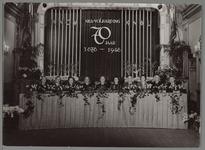 WAT001016930 70 jaar bestaan atlethiekvereniging NCL Volharding. Bestuur v.l.n.r. G.Knaven, W.Klok, B.Boer, C.D. vd ...