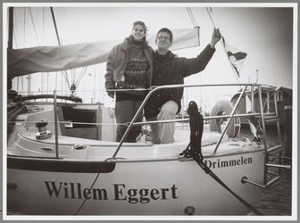 WAT001017142 Schip de Willem Eggert gedoopt.