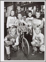 WAT001017227 Zeven leden van de Purmerendse fietscrossvereniging De Vikingcrossers gaan zondag 14 september naar het ...
