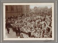 WAT001017504 Herdenking 100 jarig bestaan Ned. Onafhankelijkheid. Aubade op de Kaasmarkt. (1813-1913)