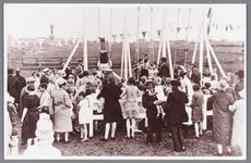 WAT002000523 De speeltuinvereniging ''Wormer''tijdens de opening in 1928.