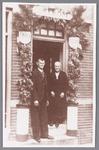 WAT002000713 Jan Fritz (1874)en Trijntje (Tinie) Koeman (1873) waren op 3 juli 1945, 50 jaar getrouwd.