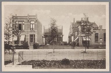 WAT002000823 De gasfabriek te Wormer (uit 1912)Met in het midden de gashouder.Fabriek gesloopt in januari 1930.