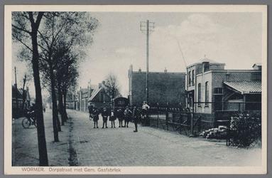 WAT002000842 Gasfabriek omstreeks 1920 en links woning directeur Hendrik Jan Loggers (1879)