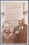 WAT002001102 Jan van Straaten met zijn vrouw.