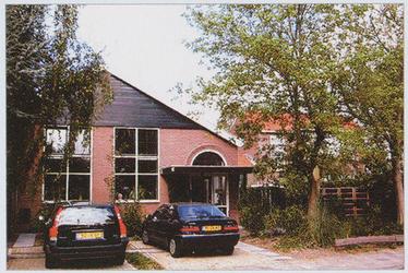 WAT002001407 De voormalige Rooms-katholieke parochïele school, gebouwd in 1911, die onderdeel uitmaakte van de H.M. ...