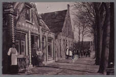 WAT002001447 Café ,, De Tijdgeest'' van Dirk Eenhoorn (geboren in 1865), die met zijn vrouw Geertje Middelburg, ...
