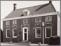 WAT002001530 Het oude raadhuis van Wormer, gebouwd als koopmanshuis omstreeks 1660.Vanaf 1818 in gebruik genomen als ...