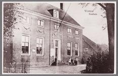 WAT002001548 Het oude raadhuis van Wormer, gebouwd als koopmanshuis omstreeks 1660.Vanaf 1818 in gebruik genomen als ...