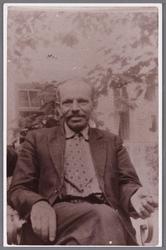 WAT002001512 George Johannes (George) de Vries, geboren in 1879, wethouder KVP.