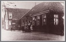 WAT002001576 Café Het Verbonden Hoofd van Jan Zijp. (café met woning, kolfbaan met een vrijstaan voormalig stal en ...