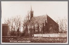 WAT002001700 Nederlandse Hervormde Kerk van Wormer.Nederlandse Hervormde Kerk. Zaalkerk uit 1807 met houten torentje ...
