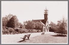 WAT002001711 Nederlandse Hervormde Kerk te Wormer.Nederlandse Hervormde Kerk. Zaalkerk uit 1807 met houten torentje ...