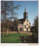 WAT002001712 Nederlandse Hervormde Kerk te Wormer.Nederlandse Hervormde Kerk. Zaalkerk uit 1807 met houten torentje ...