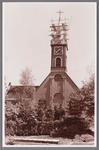 WAT002001713 Nederlandse Hervormde Kerk te Wormer.Nederlandse Hervormde Kerk. Zaalkerk uit 1807 met houten torentje ...