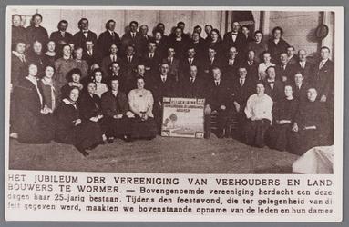 WAT002001680 Locatie: café Moriaanshoofd. Foto ter gelegenheid van het jubileum der vereniging van veehouders en ...