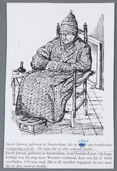 WAT002001770 Deze man leefde hier drie eeuwen geleden en woonde het laatst aan het Herenlaantje.