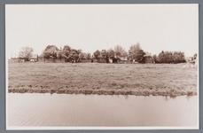 WAT002001772 Foto gemaakt vanaf het Oosteinde met links de boerderij van Wezel.