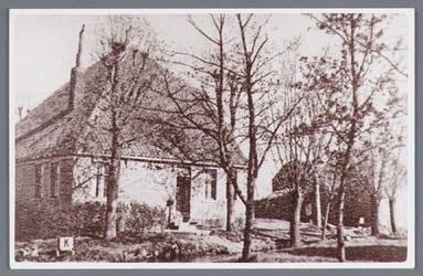 WAT002001798 Boerderij van Nicolaas (Klaas) de Leeuw, verbrand op zaterdag 2 november 1940.