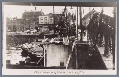 WAT002002122 Vernieuwing van de Zaanbrug richting Wormerveer.