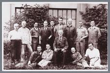 WAT002002189 Personeel van de Lassiefabriek. De N.V. koninklijke Pellerij Mercurius v/h Gebroeders Laan, Wormerveer ...