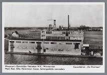 WAT002002231 Cacaofabriek '' De Moriaan'' gebouwd in 1920, met achteraan papierfabriek Van Gelder Zonen.