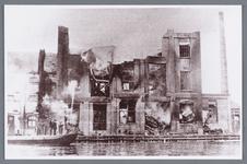 WAT002002249 Stoomolieslagerij De Pijl , gebouwd in 1904 en in 1928 afgebroken en opnieuw opgebouwd en weer later ...