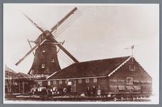 WAT002002257 Verfmolen De Beer / Het Beertje.Gebouwd in 1649 als oliemolen, later een verfmolen.Hij is in 1897 ...