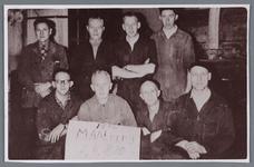WAT002002550 Werknemers van de maalderij, van papierfabriek Van Gelder VGZ