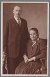 WAT002002664 Foto: Teunis Leeuwerink, geboren op 17-07-1881 te Wormer met zijn vrouw Maartje Exalto, geboren op ...