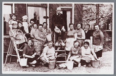 WAT002002661 Bakker Jaap Groot.Zeker tien jaar hebben Jisper vrouwen de woning en bakkerij van de vrijgezel Jaap Groot ...