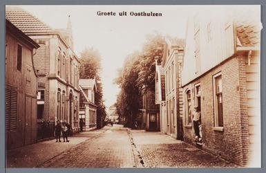 WAT002002928 Tweede pand links zien we het oude postkantoor / hulppost en telegraafkantoor van Adriaan Rems (1907) te ...