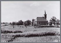 WAT002002933 Kerk van Etersheim.De eerste kerk van Etersheim is samen met het oude dorp verzwolgen in de toenmalige ...