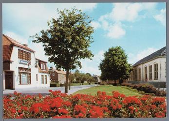 WAT002003041 Foto rechts; Openbare lagere school te Oosthuizen, zesde Schooldistrict.