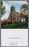 WAT002003095 Hervormde kerk Avenhorn.Hervormde Kerk. Eenschepig kerkje uit 1642, vijfzijdige sluiting; westelijke ...