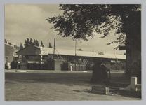 WAT001017720 Treinstation - Tramplein. Tijdens verbouwing tot Naco-busstation. Het nieuwe station werd op 8 januari ...