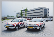 WAT001017738 Politite Zaanstreek/Waterland.De nieuwe politieauto's