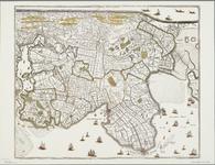 WAT001021081 Overzichtskaart van Noord-Holland met de ingepolderde meren