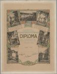 WAT001021100 Diploma, uitgereikt aan de gemeente Beemster door de Tuinbouwvereeniging Beemster en Omstreken, ter ...