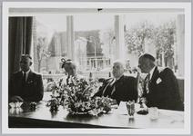 WAT001017992 Burg. G.G. Post richt zich tot de Commissaris van de Koningin van Noord Holland Baron de Vos van Steenwijk ...