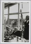 WAT001018001 Rechts Burgemeester Post. Officiële opening De Keern