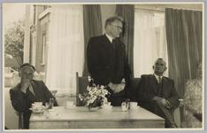 WAT001018132 Opening rusthuis De Keern (nu Oude Keern). Een der bestuursleden aan het woord.
