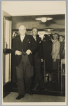 WAT001018140 Opening rusthuis De Keern (nu Oude Keern).de heer dr. J. E. Baron De Vos van Steenwijk commissaris van de ...