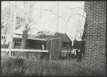 WAT001019330 Dorpsstraat (Oostzijde) 15.Boerderij met hooiberg en schuren.Boerderij van de familie N.D.Hardebol.