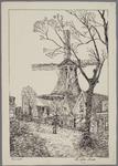 WAT001020938 Meelmolen de Bleeke Dood, bouwjaar 1656