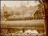 WAT003002126 Colonne Duitse soldaten