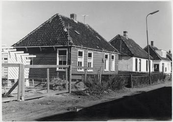 WAT003003065 Tijdens bouw dorpshuis.Bouwaanvraag voor een nieuw te bouwen Dorpshuis, Calkoenstraat hoek Van ...